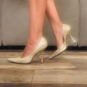 GUESS Gold Stiletto Heel